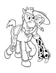 Disegno Di Jessie Toy Story Da Colorare Per Bambini