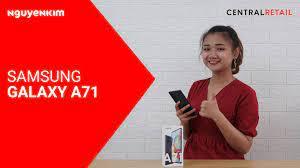 Điện Thoại Samsung Galaxy A71 Hồng Giá Tốt