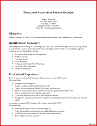 Accounting Resume Samples Entry level accounting resume samples simple portrayal 46