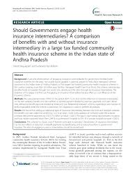 Insurance Ans Pdf Should Governments Engage Health