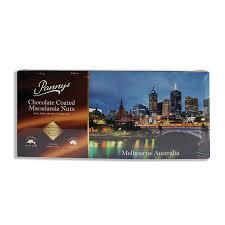 36 x chocolate coated macadamia nuts gift box