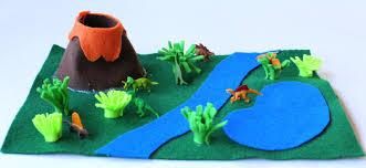diy no sew portable travel dinosaur playmat with free printable template