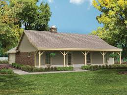 small ranch style house plans with basement and wrap around porch