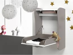 Wall Mounted Changing Table Gray