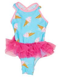 Girls Tutu Swimsuit Kids