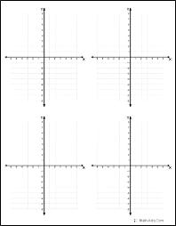 4 Quadrant Grid Paper Espace Verandas Com