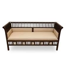 Teak Living Room Furniture Exclusivelane Elegant Maharaja Teak Wood Sofa Cum Living Room