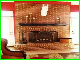 modren wall red brick fireplace decor in brick fireplace wall ideas i