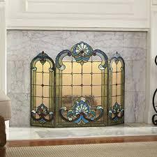 glass fireplace screen. Download Fireplace Screen Victorian Glass Screens Remarkable Tittle .