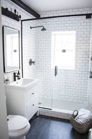 A Modern Meets Traditional Black and White Bathroom Makeover | Modern,  Vintage and Black