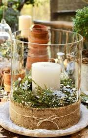 Christmas table decorations with candle and candleholder #Christmas #Candles  #Candleholders www.loveitsomuch