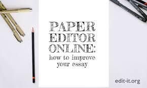 Draft Paper Online Paper Editor Online Best Way To Make An Essay Shine