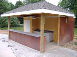 open pool house. Diy Pool House Plans Lovely Plansth Outdoor Kitchen With Bar Awesome Open Gardening Pintere