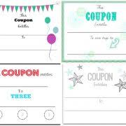 Blank Gift Voucher Huyetchienmodung Create Your Own
