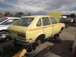 Junkyard Find: Fully Loaded 1979 Chevrolet Chevette - The Truth ...