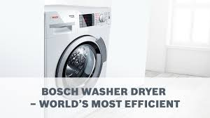 bosch washer dryer. Bosch Washer Dryer - World\u0027s Most Efficient