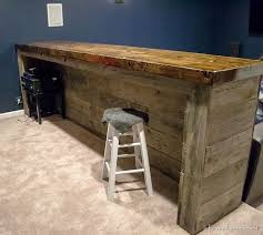 pallet bar cool man cave ideas to try this week diy projects