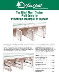 Floor Squeak Prevention And Repair Manualzz Com