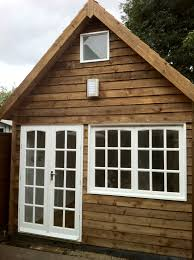 timber garden office. Bespoke Garden Office Custom Made For A Student To Study In. Timber