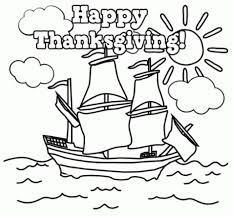 Mayflower Coloring Page Printable Archives Within Mayflower
