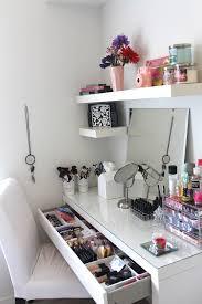 dressing table organiser 43 best makeup setup images on