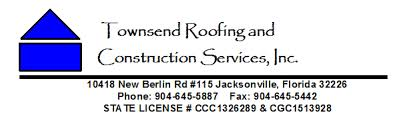 Townsend Roofing | (904)645-5887 | Jacksonville, Florida