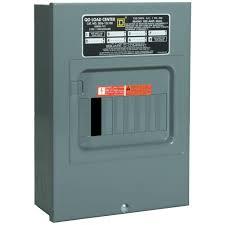 square d qo 100 amp 6 space 12 circuit indoor main lug load center