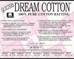 Quilters Dream Batting Cotton Select Queen size Roll & Quilters Dream Cotton Select Batting- King Size Natural Color Quilt Batting Adamdwight.com