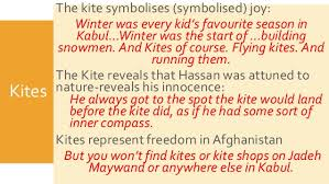 the kite runner key themes and symbols  kites