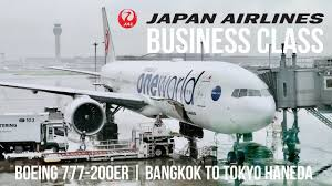 The plane, carrying 231 passengers, was forced. Review Japan Airlines Business Class Boeing 777 200er Bangkok To Tokyo Haneda Travelingfoody Com