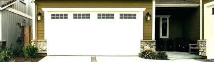 garage door kitchen window style