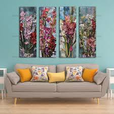 canvas wall art canvas painting flower painting wall 3 panel wall art pictures art decorative modular on 3 panel wall art canvas with canvas wall art canvas painting flower painting wall 3 panel wall