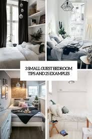 small guest bedroom. Plain Bedroom 3 Small Guest Bedroom Tips And 25 Examples For