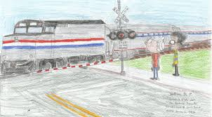 amtrak train drawing. Simple Amtrak Lincoln And Clyde Wait For Amtrak Train 3png Inside Drawing W