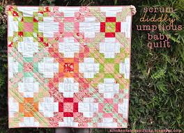Scrum-diddly-umptious Baby Quilt Â« Moda Bake Shop & Scrum-diddly-umptious Baby Quilt Adamdwight.com