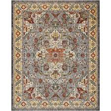 nourison aria multicolor 8 ft x 10 ft area rug