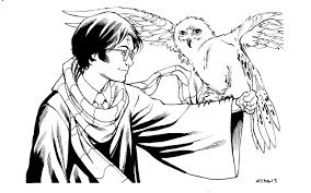 Small Picture Harry Potter Coloring Pages Miakenasnet