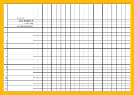 Student Template Microsoft Excel Grading Sheet Example Bell
