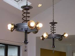 recycled lighting fixtures. recycled lamp art things brilliant light fixtures lighting i