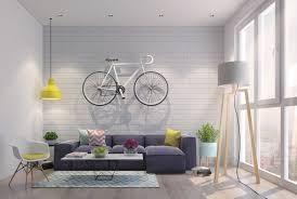 modern style living room furniture. Living Room Orange Pedant Light Exposed Brick Walls High Lamp Hipster Modern Style Furniture