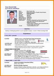 Engineering Cv Template 11 Cv Template For Electrical Engineer Theorynpractice