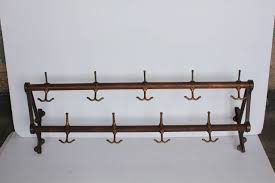Antique Wooden Coat Rack Antique Coat Rack Wall Sorrentos Bistro Home 51