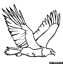 Small Picture eagle Bald Eagle Coloring Page Memorial Day Coloring