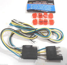 awesome new 48 4 wire flat trailer light wire 48 wiring harness with