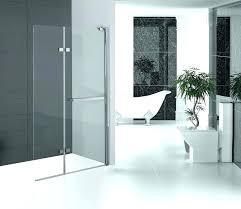 accordion glass shower door hinged glass shower door folding glass shower doors hinged shower screen chromed