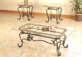 glass and iron table black wrought iron coffee table with glass top occasional throughout and decor