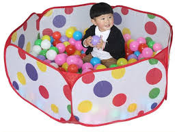 Material: Polyester fabric size: 100x53x37cm 120x60x37cm 150x80x45cm color.as photo age: 0-6 years old Toy Tent Indoor And Outdoor Children\u0027s Toys Ocean Ball Pool Baby
