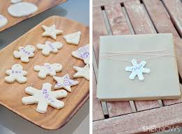 Hand Stamped Salt Dough Decorations And Gift Tags  TwiggynestSalt Dough Christmas Gifts