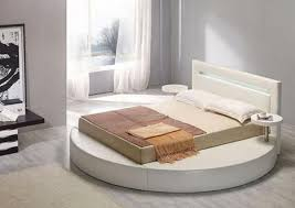 round bed upholstered