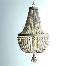 idea pottery barn beaded chandelier or image